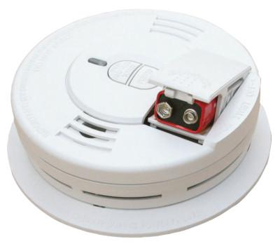 KIDDE Interconnectable Smoke Alarms, With Hush and Front Battery, Ionization