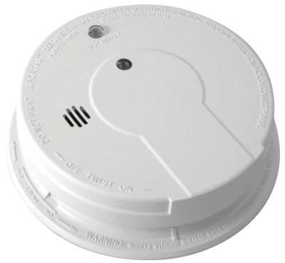 KIDDE Interconnectable Smoke Alarms, With Hush, Ionization