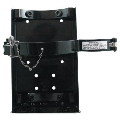 KIDDE Vehicle Brackets, Steel, Black, 20 lb