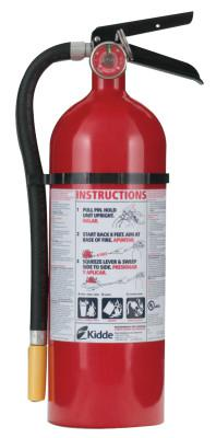 KIDDE ProLine Multi-Purpose Dry Chemical Fire Extinguisher-ABC Type, Wall Hanger, 5 lb