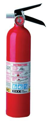 KIDDE ProLine Multi-Purpose Dry Chemical Fire Extinguishers-ABC Type, Wall Hanger