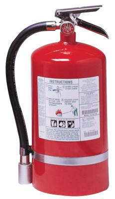 KIDDE Halotron I Fire Extinguishers, For Class B and C Fires, 15 1/2 lb Cap. Wt.