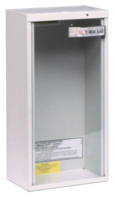 KIDDE Extinguisher Cabinets, Surface Mount, Steel, Tan, 5 lb