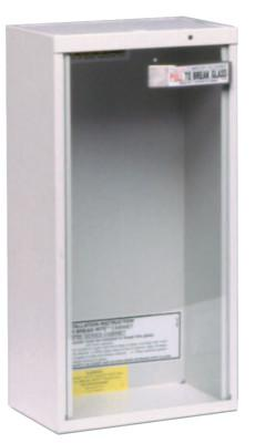 KIDDE Extinguisher Cabinets, Surface Mount, Steel, Tan, 10 lb
