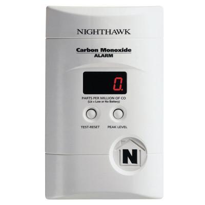 KIDDE AC Powered Plug-In Carbon Monoxide Alarm, Electrochemical