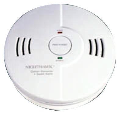 KIDDE Combination Carbon Monoxide/Smoke Alarms, Ionization; Fuel Cell