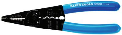 KLEIN TOOLS Long-Nose All-Purpose Tools, 8 1/4 in, 10-22 AWG, Blue