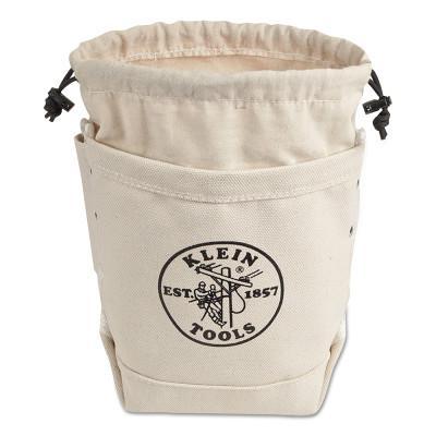 KLEIN TOOLS BOLT BAG-CANVAS W/CLOSURE/PKT