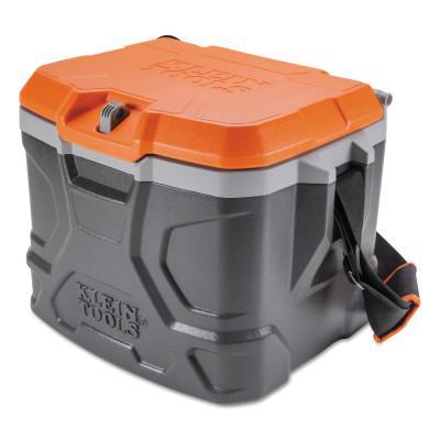 KLEIN TOOLS Tradesman Pro Tough Box Cooler, 17 qt, Gray