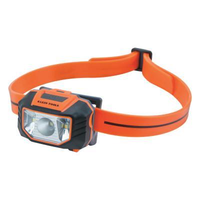 KLEIN TOOLS Headlamp, 3 AAA, 150 lumens, Orange