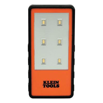 KLEIN TOOLS Clip Lights, 2 AAA, 150 lumens, Orange