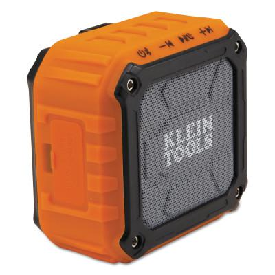 KLEIN TOOLS Wireless Jobsite Speakers, Bluetooth, Battery, Aux