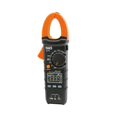 KLEIN TOOLS Digital Clamp Meters, 3 Functions, -40 to +1832 Deg F Temp Range, 20 Mohm