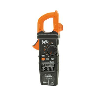 KLEIN TOOLS Digital Clamp Meters, 5 Functions, -14 to +1000 Deg F Temp Range, 60 Mohm
