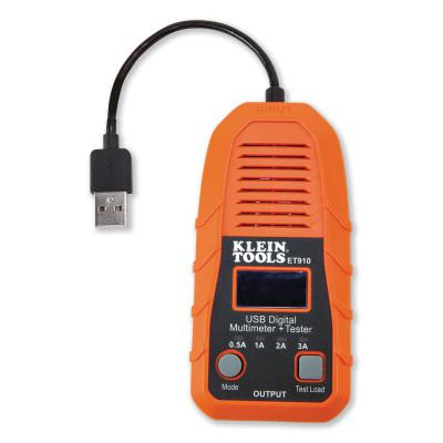 KLEIN TOOLS USB Digital Meter and Tester, USB-A (Type A)