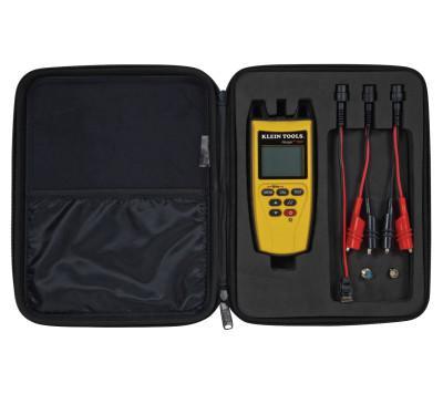 KLEIN TOOLS Ranger Testing Kit with Case and Adaptors, (4) AA alkaline batteries