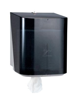 KIMBERLY-CLARK PROFESSION In-Sight The Protector Center-Pull Dispensers, Wall, Plastic, Smoke