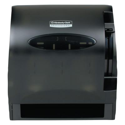 KIMBERLY-CLARK PROFESSION In-Sight Lev-R-Matic Roll Towel Dispenser, 13 3/10w x 9 4/5d x 13 1/2h, Smoke