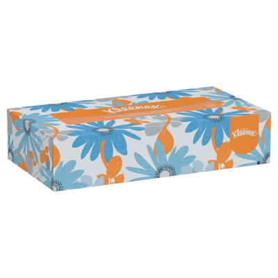 KIMBERLY-CLARK PROFESSION Kleenex Facial Tissue, 8.4 in x 8.4 in, 18 1/8 in