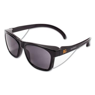 KLEENGUARD KLEENGUARD™ MAVERICK™ Safety Glasses, Smoke Anti-Fog/Scratch Lens, Black Frame