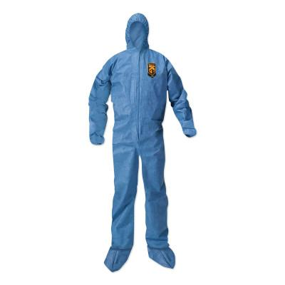 KIMBERLY-CLARK PROFESSION KLEENGUARD A20 Breathable Particle Protection Coveralls, Blue, 4XL, Hood/Boots