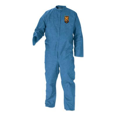 KIMBERLY-CLARK PROFESSION KLEENGUARD A20 Breathable Particle Protection Coveralls, Blue, 4XL, Zip Front