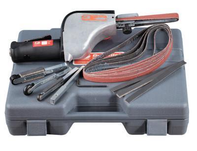 "DYNABRADE The Original Dynafile Abrasive Belt Machine Kit, 24"" x 1/8""-1/2"" Belts, 0.5 hp"
