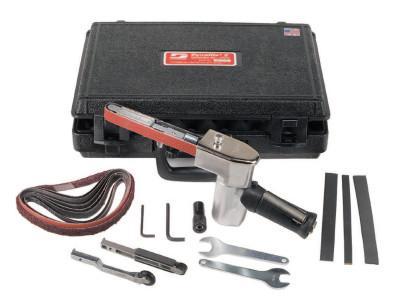 DYNABRADE Dynafile II Abrasive Belt Machine Kits, 18 in x 1/4 in-3/4 in Belts, 1/2 hp