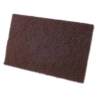 CGW ABRASIVES Non-Woven Hand Pads, Coarse, Maroon
