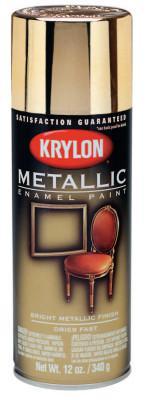 KRYLON Metallic Paints, 11 oz Aerosol Can, Silver Metallic, Metallic