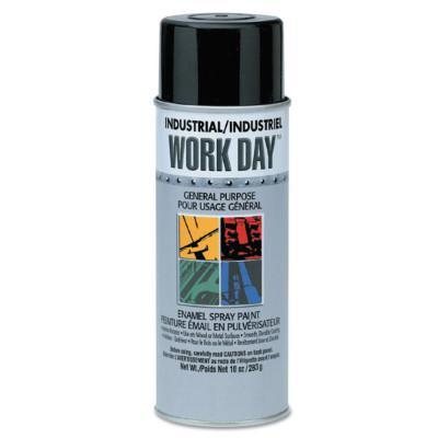 SPRAYON Industrial Work Day Enamel Paints, 16 oz Aerosol Can, Orange