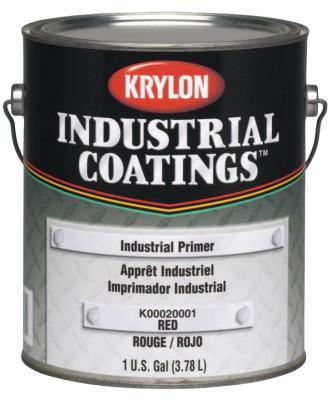 KRYLON Industrial Coatings Industrial Primers, 1 Gallon Can, Red