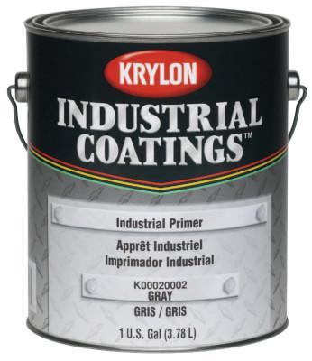 KRYLON Industrial Coatings Industrial Primers, 1 Gallon Can, Gray