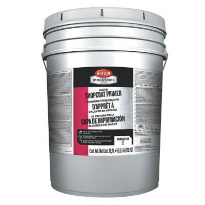 KRYLON Alkyd Shopcoat Primer, 5 Gallon Pail, Gray