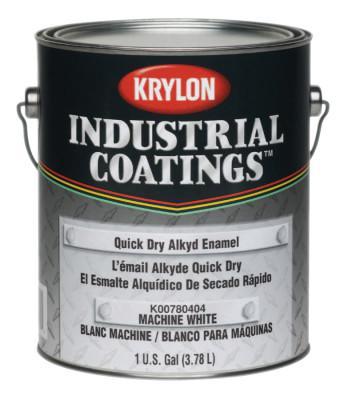 KRYLON 78 Series Quick Dry Alkyd Enamels, 1 Gallon Can, Gloss Black