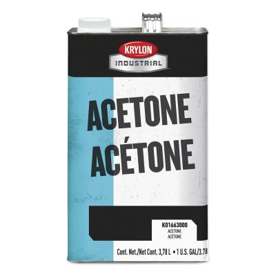 KRYLON Acetone Thinner and Reducer, 1 gal Can