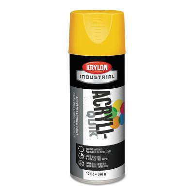 KRYLON ACRYLI-QUIK™ Acrylic Lacquer Paint, 12 oz, Pumpkin Orange, Gloss