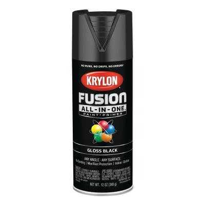 KRYLON Fusion All-in-One™ Paint + Primer, 12 oz, Black, Gloss