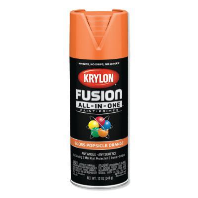 KRYLON Fusion All-in-One™ Paint + Primer, 12 oz, Popsicle Orange, Gloss