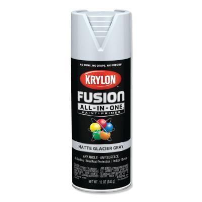 KRYLON Fusion All-in-One™ Paint + Primer, 12 oz, Glacier Gray, Matte