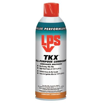 LPS TKX All-Purpose Penetrant Lubricants and Protectants, 11 oz, Aerosol Can