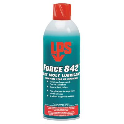 LPS Force 842° Dry Moly Lubricants, 16 oz Aerosol Can