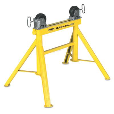 SUMNER Lo Adjust-A-Roll Stands, 2,000 lb Cap., 1/2 in-36 in Pipe, 24 in H