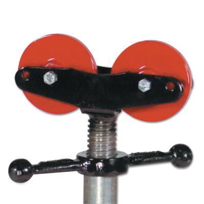 SUMNER Pipe Stand Wheels, Steel, 2,000 lb Cap., 1 1/4 in-24 in Pipe