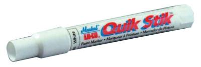 MARKAL Quik Stik Markers, 11/16 in dia, 6 in, Red