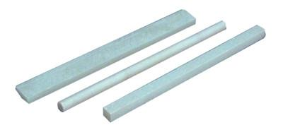 MARKAL Soapstone Markers, Square, 1/4 in x 5 in, White