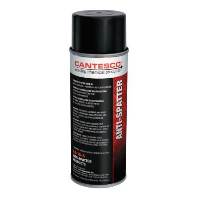 CANTESCO Heavy Duty Solvent Based Anti-Spatter, 16 oz Aerosol Can, White to Amber