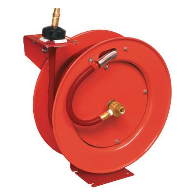 LINCOLN INDUSTRIAL Hose Reels for Air and Water Models 83753 and 83754, Series B, 3/8 in, 50 ft