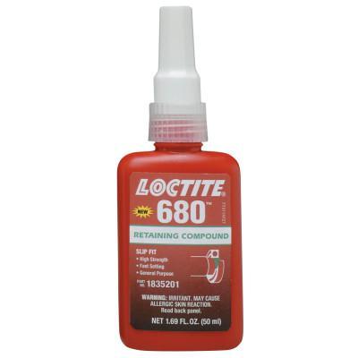 LOCTITE 680 Retaining Compound, 50 mL Bottle, Green, 4,000 psi