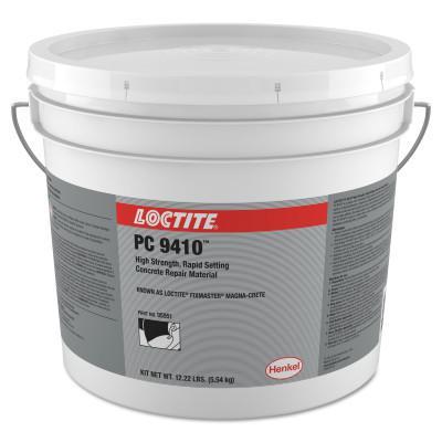 LOCTITE Fixmaster Magna-Crete, 5 gal, Bottle/Bucket Kit, Grey